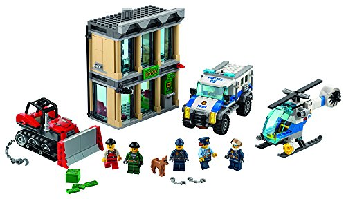 LEGO City Police Bulldozer Break-In 60140 Building Kit (Lego Bulldozer)