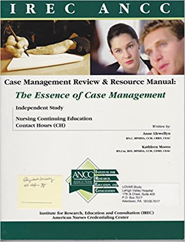 For you nursing case management review and resource manual, 4th.