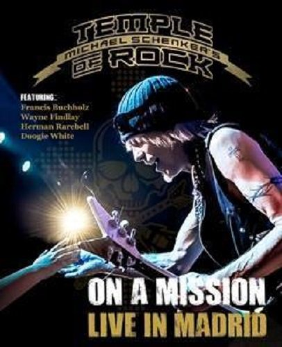 Michael Schenker's Temple Of Rock - On A Mission: Live In Madrid [Blu-ray] (Best Rock Bottom Ever)