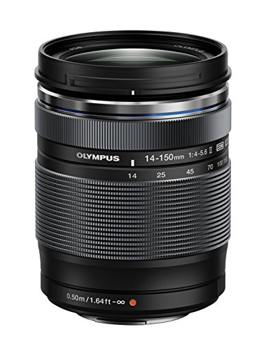 Olympus M.Zuiko Digital ED 14-150mm F4.0-5.6 II Lens, for Micro Four Thirds Cameras (Black) (Best Telephoto Lens For Micro Four Thirds)