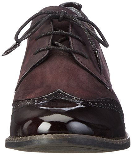 Tamaris 23202  - Zapatos Mujer Rojo (BORDEAUX 549)