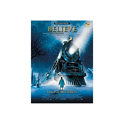 Alfred Believe (from The Polar Express) Easy Piano Sheet]()