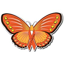 Leukemia Awareness Butterfly Sticker/Decal - Set of 3 -