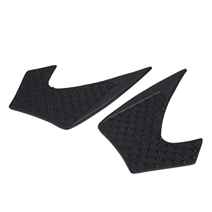 Tank Traction Pads Anti-Slip Rubber Gas Tank Traction Pad Knee Grip Sticker for Yamaha MT-07 FZ-07