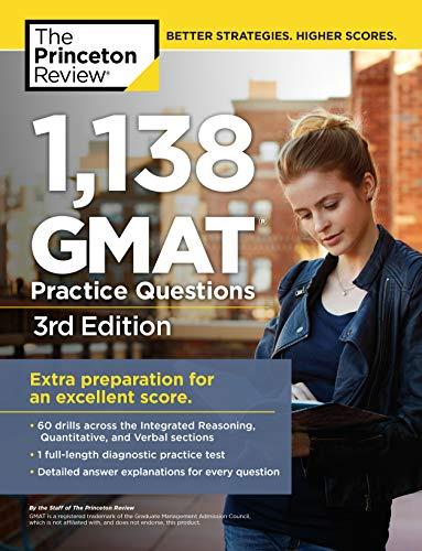 Pdf Test Preparation 1,138 GMAT Practice Questions, 3rd Edition (Graduate School Test Preparation)
