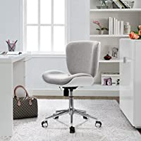 Serta Style Haylie Office Chair, Heather/White Brilliance