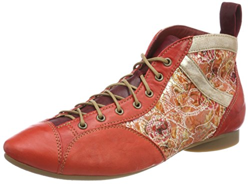 282288 Red Rosso 5 Donne 76 Guad Desert Delle Guad Rosso Uk Uk Women's Boots Think peperoncino kombi Red 5 76 282288 chilli Pensare Stivali Deserto Kombi wxYRqRFZ