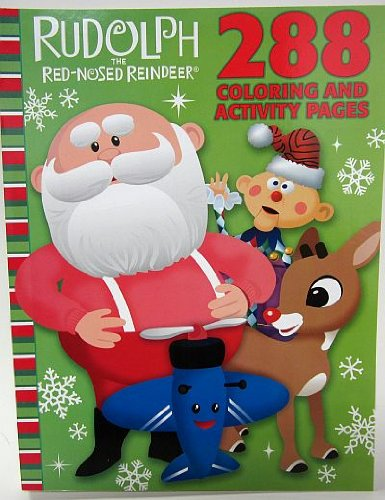 Season Reindeer - Rudolph the Red-Nosed Reindeer Celebration Season 288 Page Coloring & Activity Book