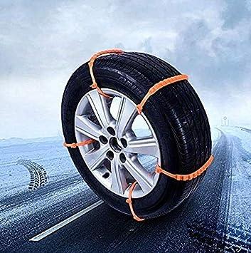 10 Unids Coche Universal Mini Plástico Invierno Nieve Neumáticos Ruedas Cadenas Nieve Automóviles/SUV Car-Styling Antideslizante Autocross Escalada Al Aire ...