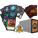 200 Assorted World Of Warcraft Trading Cards with Pack of WoW Sleeves! By Golden Groundhog!