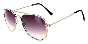 b4d0fe0fa8 Aloha Eyewear Tek Spex 9001 Unisex Progressive No-Line Aviator Bifocal  Reader Sunglasses (Chrome