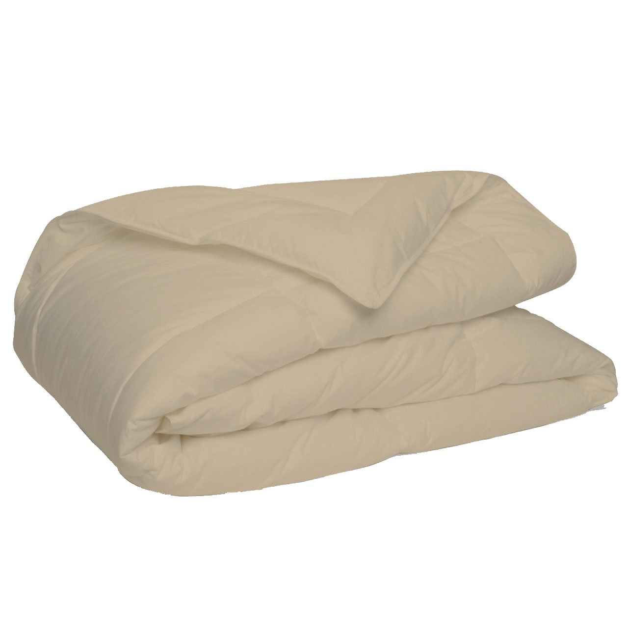 Elegant and Luxury Quality Comforter by New York Mercado 300 GSM All seasons Warm Fluffy Ultra-Soft and Smooth, Made of 100% Long staple Egyptian cotton Italian finish (Queen, Taupe)