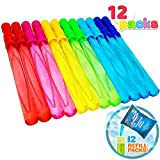 Joyin Toy 12 Pack 14'' Big Bubble Wand