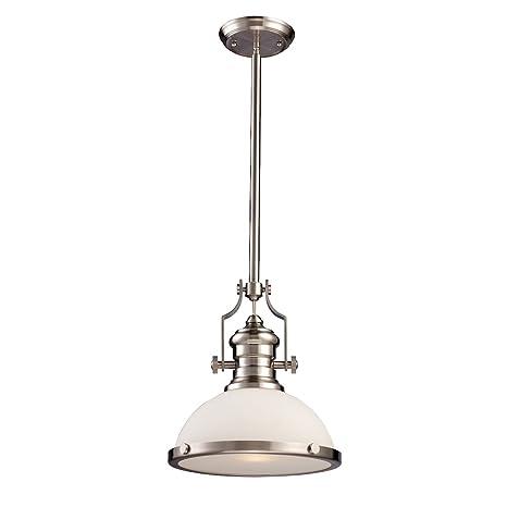 Elk lighting chadwick pendant in satin nickel ceiling pendant elk lighting chadwick pendant in satin nickel aloadofball Image collections