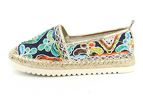 Patrizia Dames Een Glans Oranje Multi Slip-on - 36