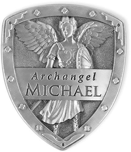 AngelStar 15513 Archangel Pocket Shield Token, 1-1/4 by 1-Inch, Michael ()