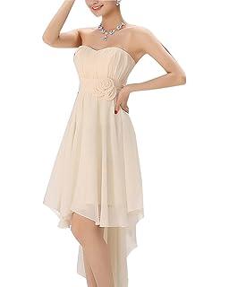 Mujer Elegante Vestido Para Ceremonia De Encaje Floral Precioso Vestido