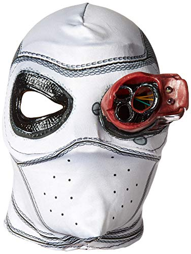 Origin Of The Halloween Mask (Rubie's Costume Co Men's Suicide Squad Deadshot Mask, Light Up, One)