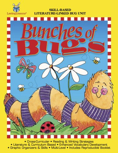 Skill-Based Activity Book - Bunches Of Bugs