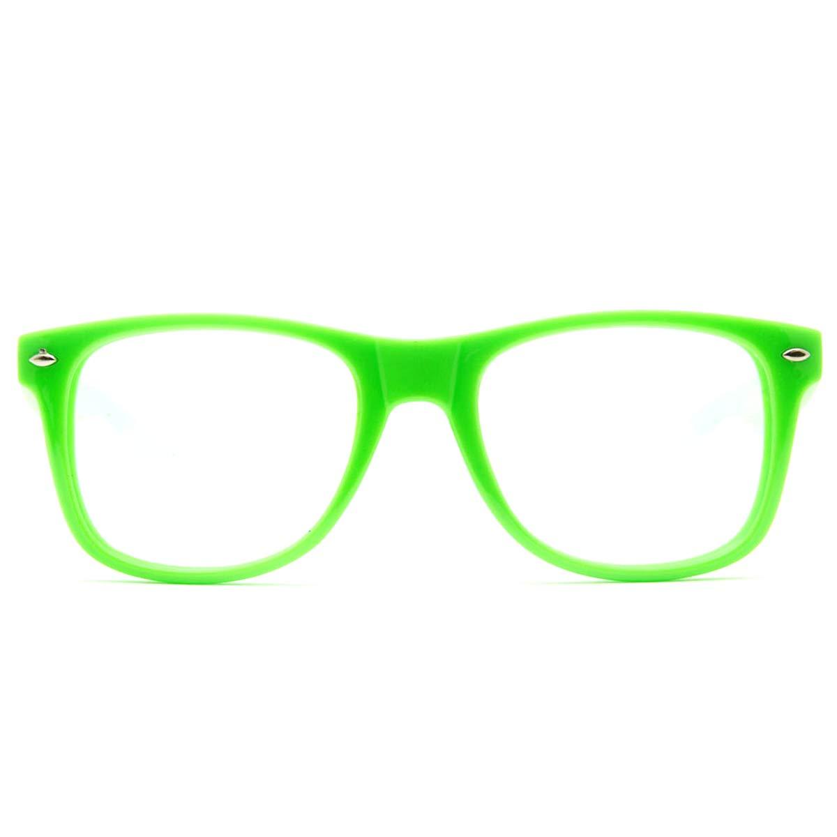f32e690bd3ba0 Amazon.com  GloFX Ultimate Diffraction Glasses - Green - Rave Glasses   Clothing