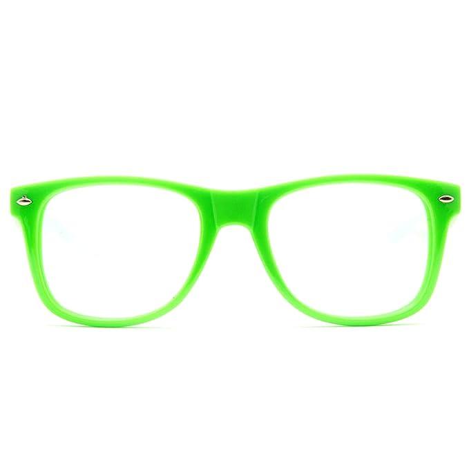 fe4e08fa5b8dc Amazon.com  GloFX Ultimate Diffraction Glasses - Green - Rave ...