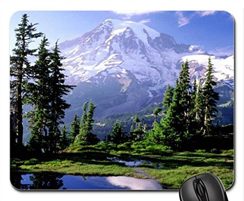 Mount Rainier National Park Mouse Pad, Mousepad