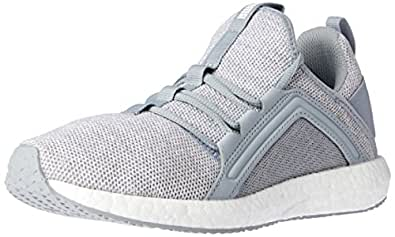 PUMA Women's MEGA NRGY KNIT WN'S Quarry- White 1 8.5H