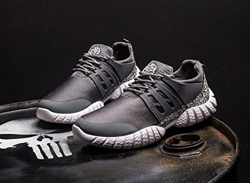 Zapatillas deportivas para hombres primavera y verano tamaño 39-44 Grey