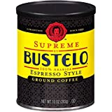 Supreme By Bustelos Espresso Coffee, 10 Ounce (Pack of 2)