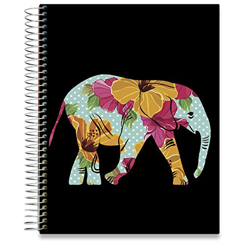 Planner 2018 2019 Academic Year Calendar   8 5 X 11 Hardcover   15 Months Dated April 2018 To June 2019   Daily Weekly Monthly Spiral Planner With Stickers   Pages In Color   By Tools4wisdom Planners