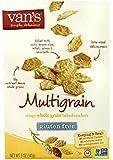 Van's Simply Delicious Crackers, Multigrain, 5 Ounce (Pack of 6)