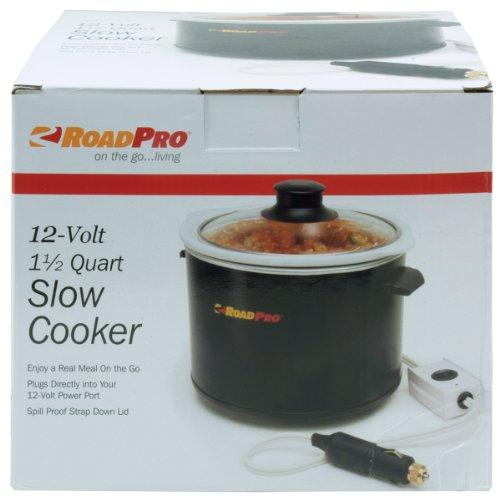 RoadPro RPSL-350 12V 1.5 Quart Slow Cooker