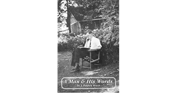 a man and his words boyer j patrick