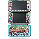 trending zebra wall decals MightySkins Skin Nintendo 2DS XL - Zebra Trance | Protective, Durable Unique Vinyl Decal wrap Cover | Easy to Apply, Remove Change Styles | Made in The USA