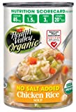 chicken and rice soup - Health Valley Organic No Salt Added Soup, Chicken Rice, 15 Ounce (Pack of 12)