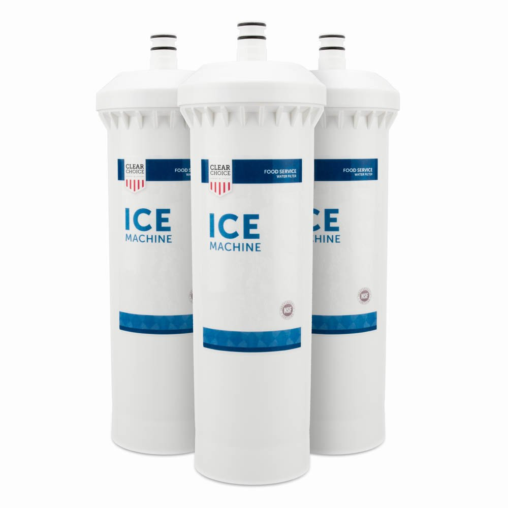 Clear Choice Ice Filtration System Replacement Cartridge for CUNO 55600-01 55600-09 AP500 AP510 AP51706 AP522 CFS517 CS-61 CS500 Also Compatible with 3M 70020015189 70020041458 70020041466, 3-Pack