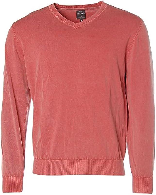 kitaro męski sweter dziergany V -: Odzież