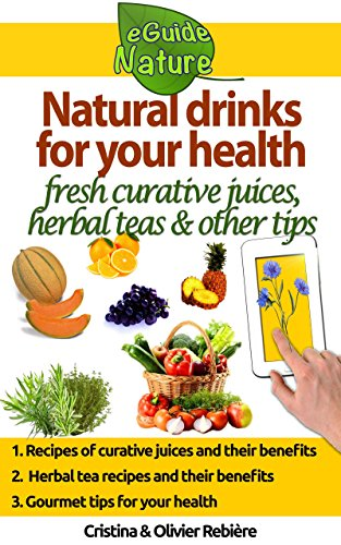 Natural drinks for your health: A small digital guide with some natural drinks, their natural and healing properties (eGuide Nature Book 0)