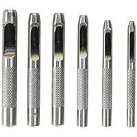 AJ Tools CHIP06S Punzón hueco de 6 piezas