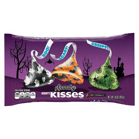 Hershey's Spooky Kisses Halloween Bag 10 -