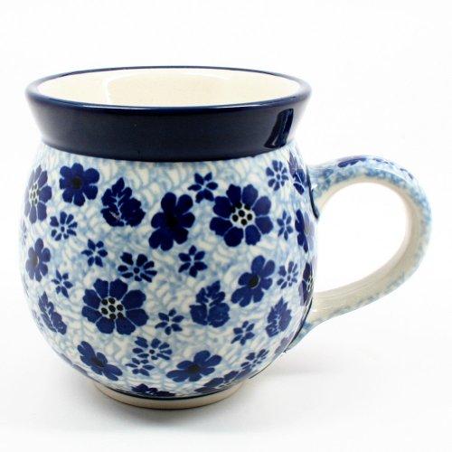 Polish Pottery Ladies Bubble Mug #1443