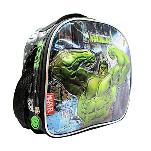 22348a0da6e4 Marvel Avengers Assemble The Incredible Hulk Insulated Lunch Bag ...