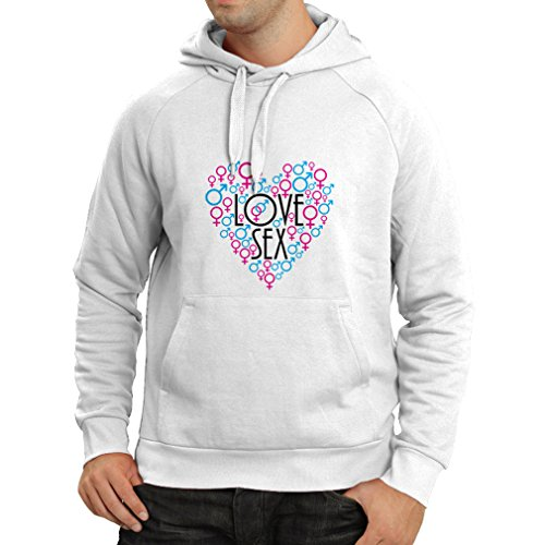 Hoodie Sexy St. Valentines day outfits, gift ideas (XX-Large White Multi Color) (Naughty School Girl Outfit Ideas)