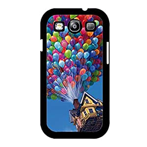 Samsung Galaxy S3 I9300 Phone Case,Up Ups Cover Case Beautiful Cartoon Logo New Arrival Premium Phone Accessory with Classic Up Ups Design