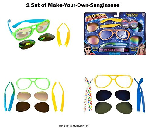 CREATE YOUR OWN SUNGLASS KIT - Your Create Own Sunglasses