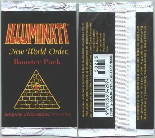 Illuminati New World Order Booster Pack by Steve Jackson Games Unlimited Edition B008PYVRYG