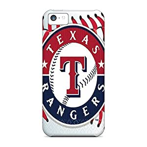 Marycase88 Iphone 5c Best Hard Phone Cases Allow Personal Design Vivid Texas Rangers Pattern [dRD3272orsg]