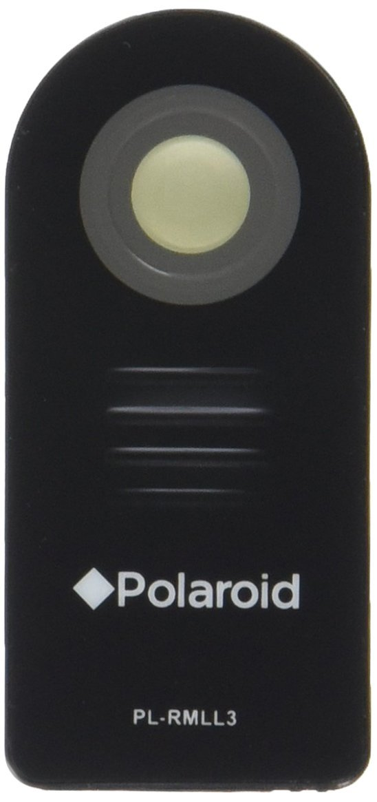 Polaroid Wireless Infrared Remote Control With Protective Case For The Nikon SLR D40, D40X, D50, D60, D70, D70S, D80, D90, D3000, D3200, D3300, D5000, D5300, D7000, D750, D5100, Coolpix P7000, P6000, N65, N75, 8400, 8800 Digital Cameras (ML-L3 Replacement)