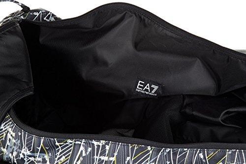 Emporio Armani EA7 sac de sports homme bandoulière en Nylon train playground noi