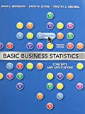 img - for BASIC BUSINESS STATISTICS&STUDENT SOL/M PKG (12th Edition) book / textbook / text book